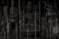 Maleonn -  Part one - Statues of various gods and Buddhas