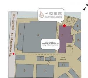 Map of XUN Art Gallery Shanghai