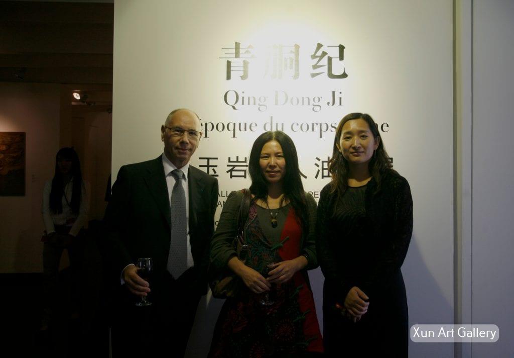 Vernissage Zhang Yuhan1 2011 1
